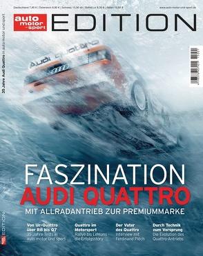 auto motor und sport Edition – Audi Quattro