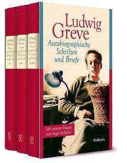 Autobiographische Schriften und Briefe von Dambacher,  Eva, Greve,  Ludwig, Pfäfflin,  Friedrich