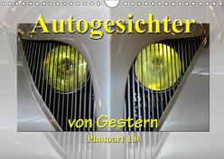 Autogesichter von Gestern Photoart 1.0 (Wandkalender 2019 DIN A4 quer) von Laue,  Ingo