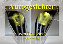 Autogesichter von Gestern Photoart 1.0 (Wandkalender 2020 DIN A2 quer) von Laue,  Ingo