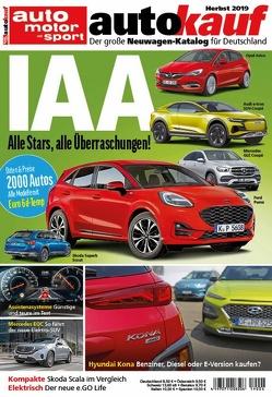 autokauf 04/2019 – Der große Neuwagen-Katalog für Deutschland