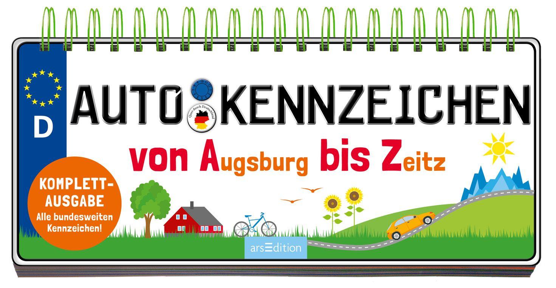 Autokennzeichen von Maas, Annette: Von Augsburg bis Zeitz