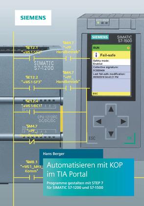 Automatisieren mit KOP im TIA Portal von Berger,  Hans