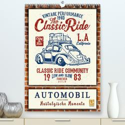 Automobil – nostalgische Momente (Premium, hochwertiger DIN A2 Wandkalender 2021, Kunstdruck in Hochglanz) von Roder,  Peter