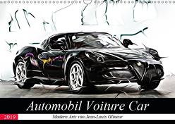 Automobil Voiture Car (Wandkalender 2019 DIN A3 quer) von Glineur alias DeVerviers,  Jean-Louis