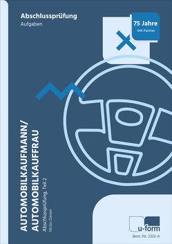 Automobilkaufmann/Automobilkauffrau (AO 2017) von Giesen,  Niclas