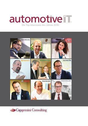 automotiveIT Die Top Interviews des Jahres 2016 von Media-Manufaktur GmbH