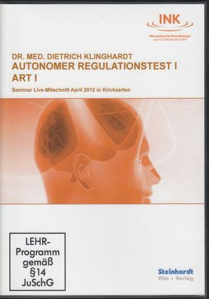 Autonomer Regulationstest I  (ART I) von Klinghardt,  Dietrich