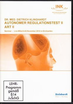 Autonomer Regulationstest II (ART II) von Klinghardt,  Dietrich