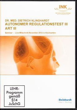 Autonomer Regulationstest III (ART III) von Klinghardt,  Dietrich