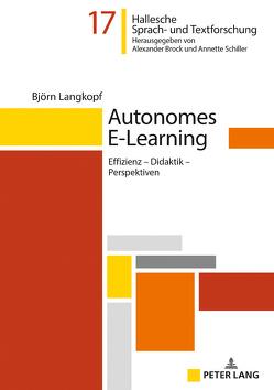 Autonomes E-Learning von Langkopf,  Björn