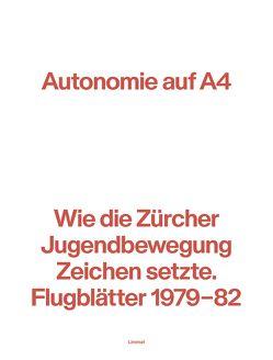 Autonomie auf A4 von Bichsel,  Peter, Bichsel,  Peter K., Fischbacher,  Roland, Lerch,  Silvan, Lzicar,  Robert, Nigg,  Heinz