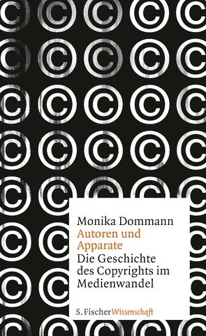 Autoren und Apparate von Dommann,  Monika