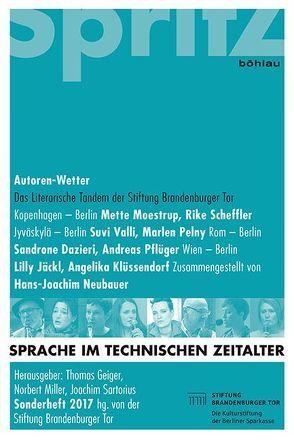 Autoren-Wetter von Geiger,  Thomas, Miller,  Norbert, Neubauer,  Hans-Joachim, Sartorius,  Joachim
