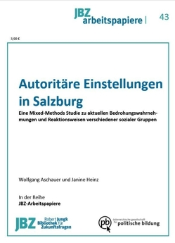 Autoritäre Einstellungen in Salzburg von Aschauer,  Wolfgang, Heinz,  Janine, Wally,  Stefan