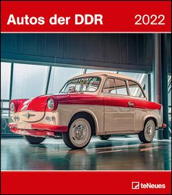 Autos der DDR 2022 – Wand-Kalender – 30×34