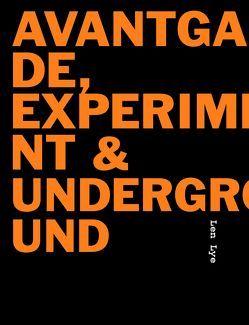 Avantgarde, Experiment & Underground von Kothenschulte, Daniel, Strzelecki, Carmen