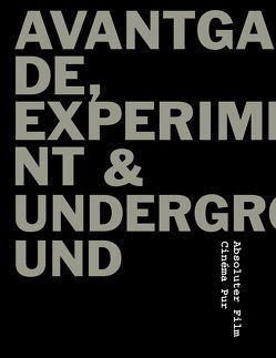 Avantgarde, Experiment & Underground von Delkus,  Hans D, Strzelecki,  Carmen