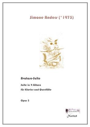 Avatare-Suite für Klavier und Querflöte von Anders,  Simone