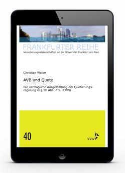 AVB und Quote von Waller,  Christian, Wandt,  Manfred
