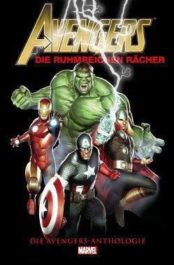 Avengers Anthologie: Die ruhmreichen Rächer von Kirby,  Jack, Kups,  Steve, Lee,  Stan, Pannor,  Stefan, Strittmatter,  Michael