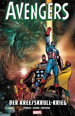 Avengers: Der Kree/Skrull-Krieg von Adams,  Neal, Breitsameter,  Florian, Buscema,  John, Buscema,  Sal, Strittmatter,  Michael, Thomas,  Roy