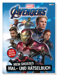 Avengers Infinity War 2: Activity-Buch