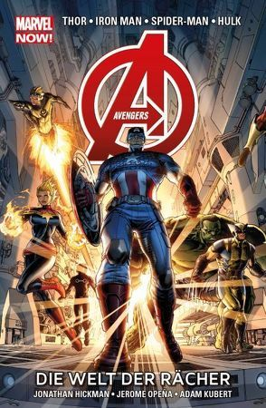 Avengers – Marvel Now! von Hickman,  Jonathan, Kubert,  Adam, Opena,  Jerome