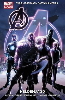 Avengers – Marvel Now! von Cheung,  Jim, Hickman,  Jonathan