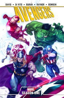 Avengers: Season One von Bowden,  Mike, Buran,  Jon, David,  Peter, DiVito,  Andrea, Raynor,  Nigel, Wong,  Walden