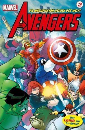Avengers TV-Comic von Scherberger,  Patrick, Wegener,  Scott, Yost,  Christopher