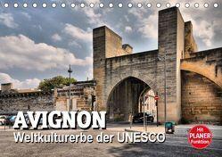Avignon – Weltkulturerbe der UNESCO (Tischkalender 2019 DIN A5 quer) von Bartruff,  Thomas