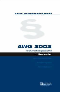 AWG 2002 von List,  Wolfgang, Schmelz,  Christian