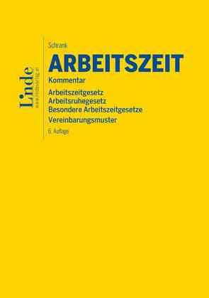 AZG   Arbeitszeitgesetz von Schrank,  Franz