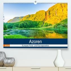Azoren: Europas Flora- und Faunaparadies (Premium, hochwertiger DIN A2 Wandkalender 2020, Kunstdruck in Hochglanz) von Krauss,  Benjamin