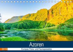 Azoren: Europas Flora- und Faunaparadies (Tischkalender 2019 DIN A5 quer) von Krauss,  Benjamin