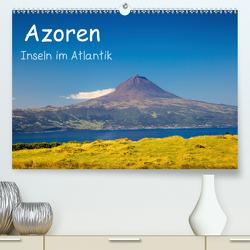 Azoren – Inseln im Atlantik (Premium, hochwertiger DIN A2 Wandkalender 2020, Kunstdruck in Hochglanz) von Jost,  S.