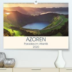 Azoren – Paradies im Atlantik (Premium, hochwertiger DIN A2 Wandkalender 2020, Kunstdruck in Hochglanz) von Claude Castor I 030mm-photography,  Jean