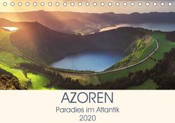 Azoren – Paradies im Atlantik (Tischkalender 2020 DIN A5 quer) von Claude Castor I 030mm-photography,  Jean