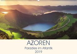 Azoren – Paradies im Atlantik (Wandkalender 2019 DIN A2 quer) von Claude Castor I 030mm-photography,  Jean