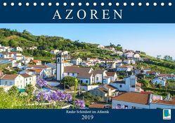 Azoren: Rauhe Schönheit im Atlantik (Tischkalender 2019 DIN A5 quer) von CALVENDO