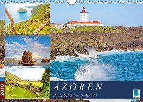 Azoren: Rauhe Schönheit im Atlantik (Wandkalender 2018 DIN A4 quer) von CALVENDO
