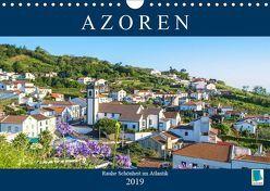 Azoren: Rauhe Schönheit im Atlantik (Wandkalender 2019 DIN A4 quer) von CALVENDO