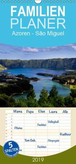 Azoren – São Miguel – Familienplaner hoch (Wandkalender 2019 , 21 cm x 45 cm, hoch) von HM-Fotodesign