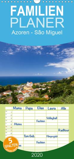 Azoren – São Miguel – Familienplaner hoch (Wandkalender 2020 , 21 cm x 45 cm, hoch) von Schlüter,  Susanne
