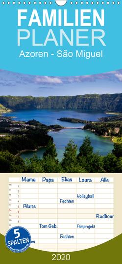 Azoren – São Miguel – Familienplaner hoch (Wandkalender 2020 , 21 cm x 45 cm, hoch) von HM-Fotodesign