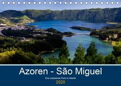 Azoren – São Miguel (Tischkalender 2020 DIN A5 quer) von HM-Fotodesign