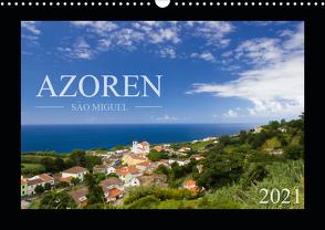 Azoren – São Miguel (Wandkalender 2021 DIN A3 quer) von Schlüter,  Susanne