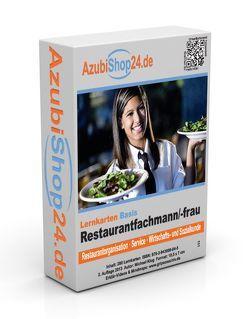 Lernkarten Restaurantfachmann / Restaurantfachfrau Prüfung von Klug,  Michael