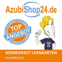 AzubiShop24.de Kombi-Paket Konditor /in + Wirtschafts- und Sozialkunde von Rung-Kraus,  Michaela, Schneider,  Christina